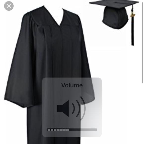 Oak Hall Other | Graduation Cap And Gown Standard Black | Poshmark